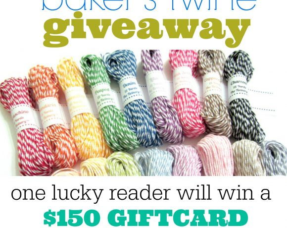 $150 Baker's Twine GIVEAWAY from the Twinery