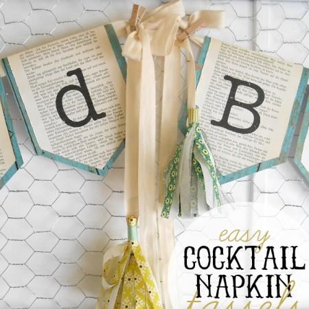 Napkin tassels titled