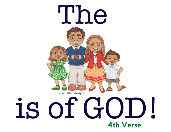 The family is of God- Title - verse 4