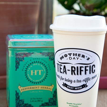 Tea-Riffic Mom Gift Idea