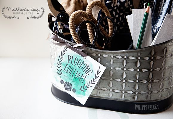 You're Blooming Brilliant // Printable Mother's Gift Idea