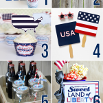 4th of July Beverage Signs + 7 More Free 4th of July Printables