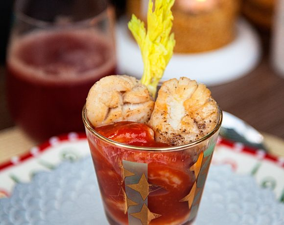 Fiesta Scallop and Shrimp Cocktail