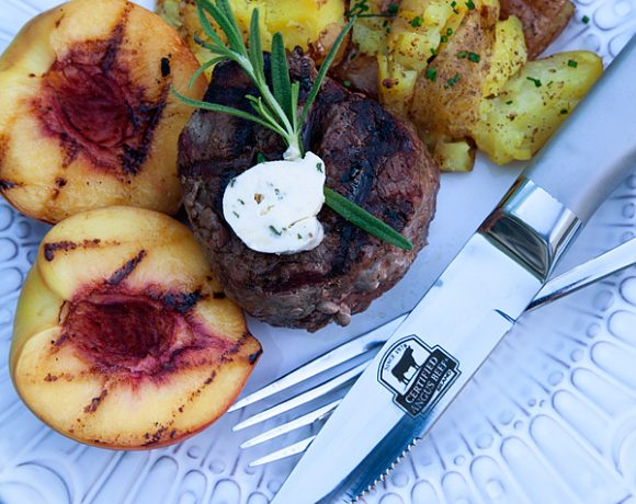 Filet of Sirloin with Rosemary Butter // Recipe
