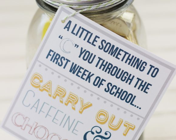 First Week of School Gift for Teachers