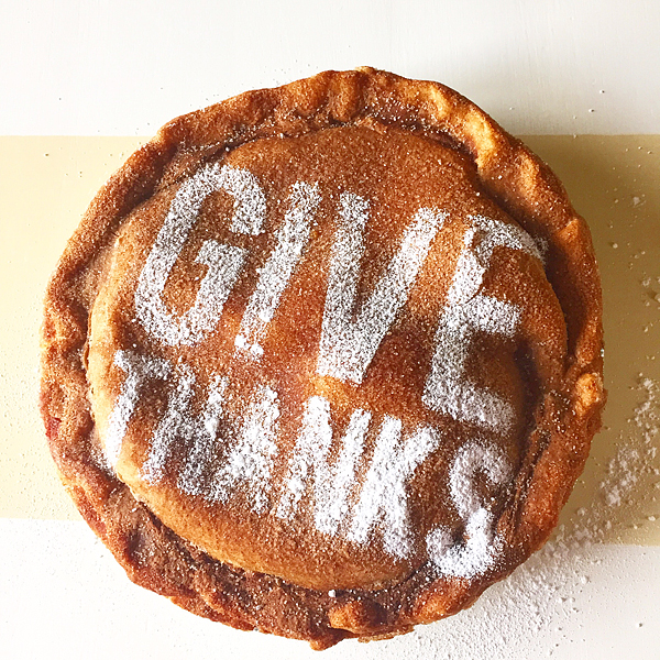 Thanksgiving Pie Stencils