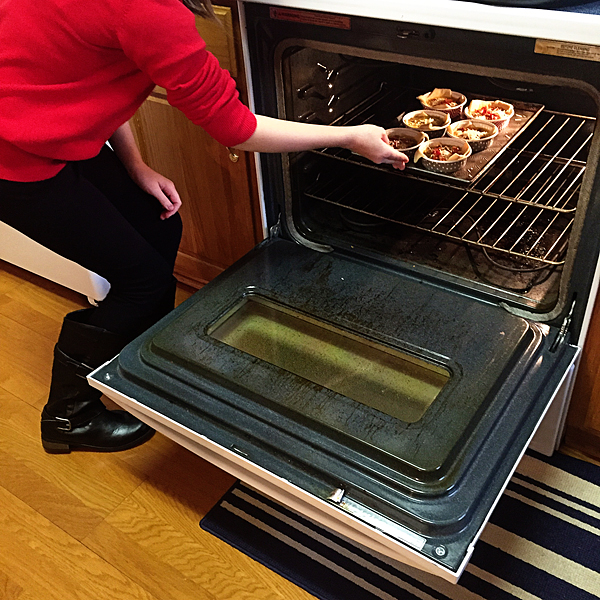 Putting-the-quiche-into-the-oven