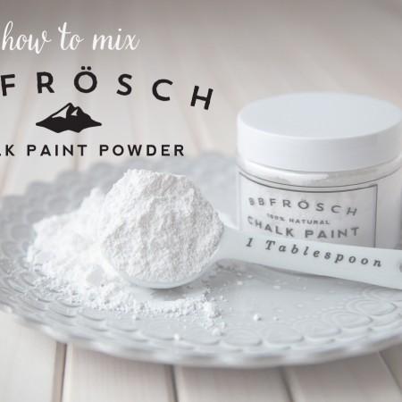 how-to-mix-BB-Frösch-chalk-paint-powder