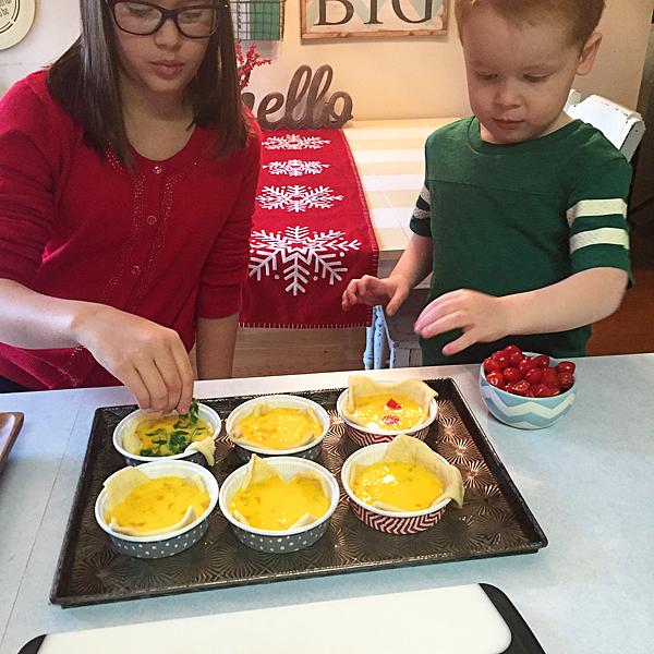 making-quiche