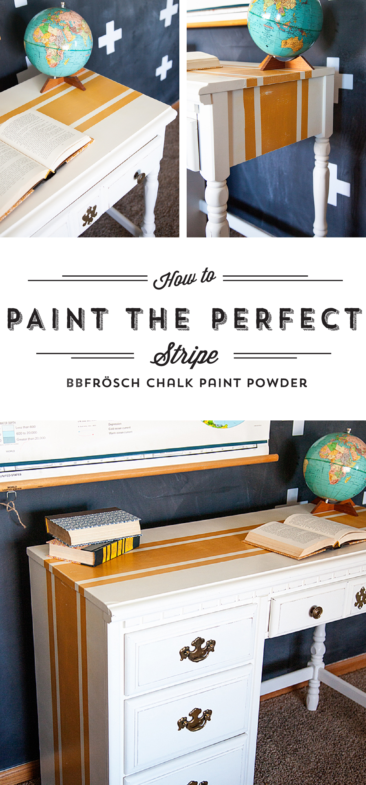 How To Paint Perfect Stripes With BB Frösch