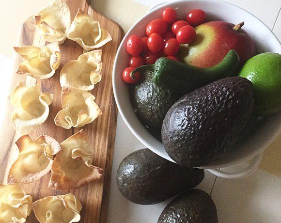 Fresh Avocado Bites Appetizer