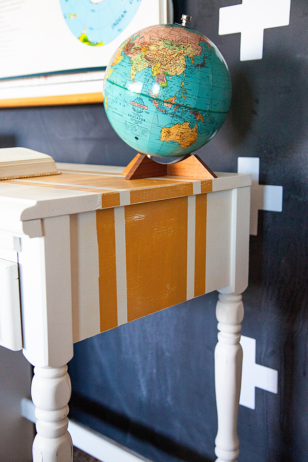 WhipperBerry-Mustard-Striped-Desk-with-BB-Frösch-Chalk-Paint-Powder-10