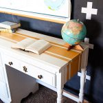 WhipperBerry-Mustard-Striped-Desk-with-BB-Frösch-Chalk-Paint-Powder-3