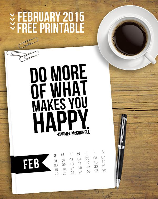 February-2015-Printable-Calendar.-5x7-Printable-Calendar-with-quote-Live-Laugh-Rowe