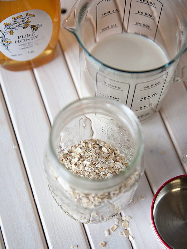 Overnight oats with silk cashew milk from whipperberry 3