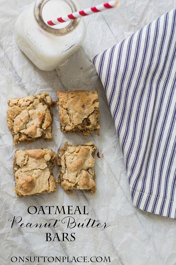 oatmeal-peanut-butter-bars-recipe