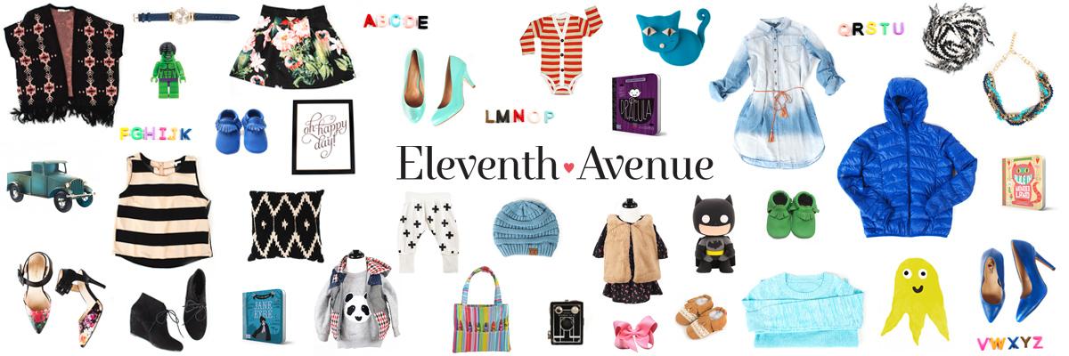 Horizontal Handpicked Items - Eleventh Avenue