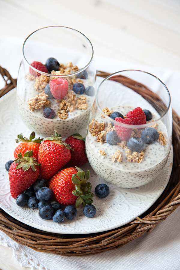 Chia Pudding recipe from WhipperBerry // Breakfast Super Food!