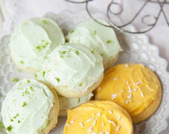 Mango and Lime Cookies