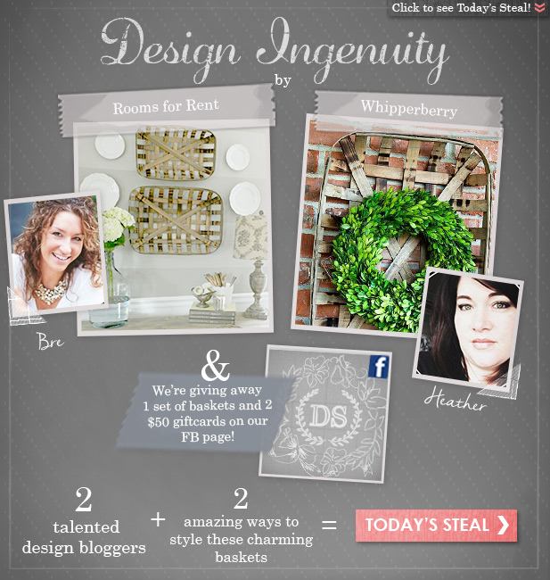 Design Ingenuity with Decor Steals + GIVEAWAY