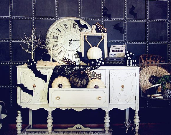 Pumpkin Halloween Decorations + The Jack O' Lope