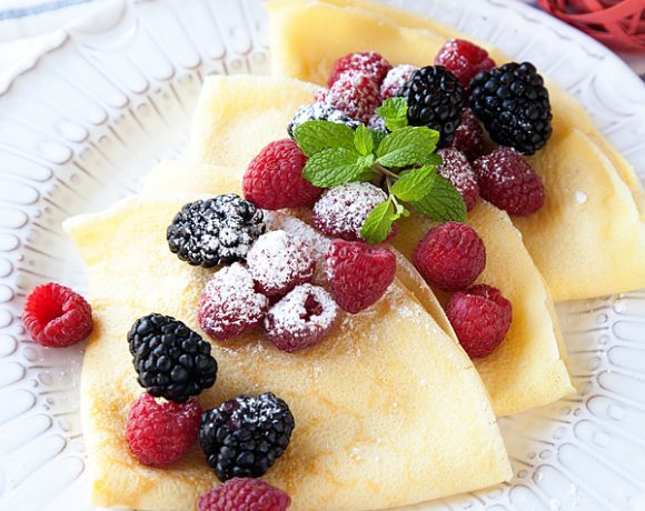 Lemon Drop Crepes Recipe