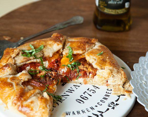 Tomato Galette + Pie Crust 101