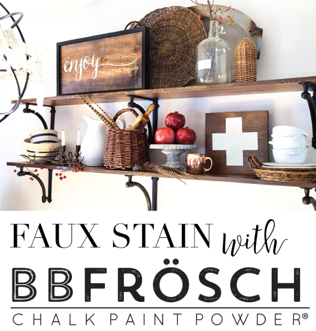 Faux-Stain-BB-Frösch-Chalk-Paint-Powder