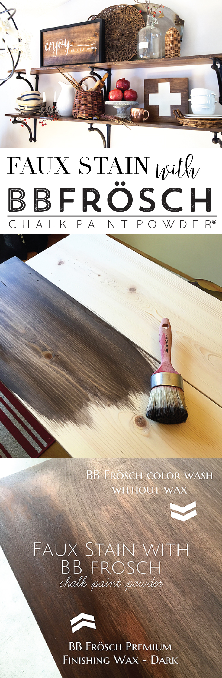 Faux-Stain-with-BB-Frösch-Chalk-Paint-Powder