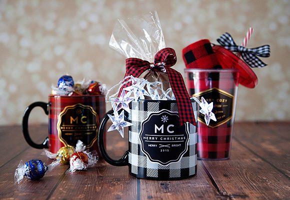 Stylish Christmas Neighbor Gifts + Free Printable Gift Tags