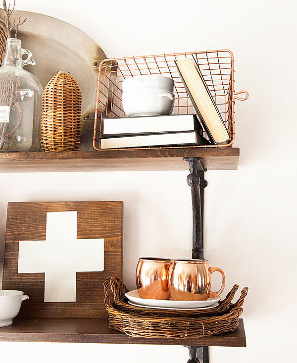 Copper Basket + Styled X3