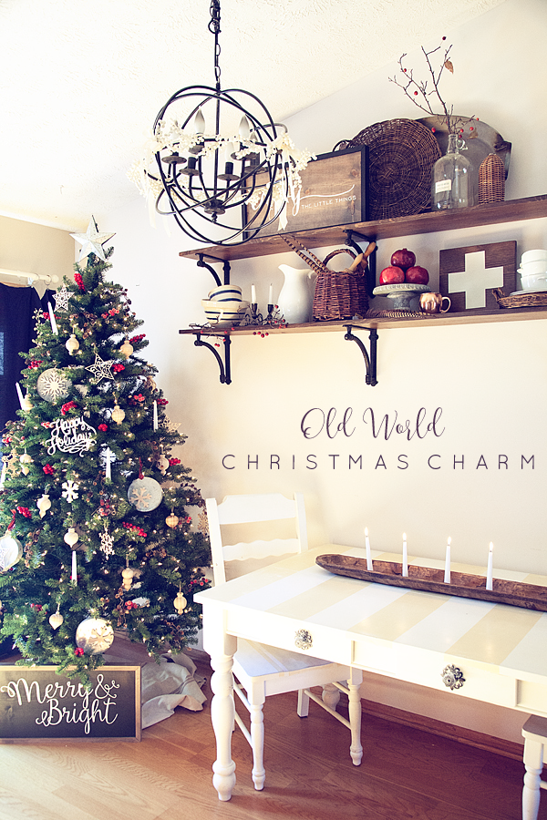 Old World Charm Christmas Tree