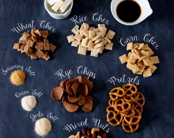 Original Chex Mix Recipe + Merry Chexmas Printable Gift Tag