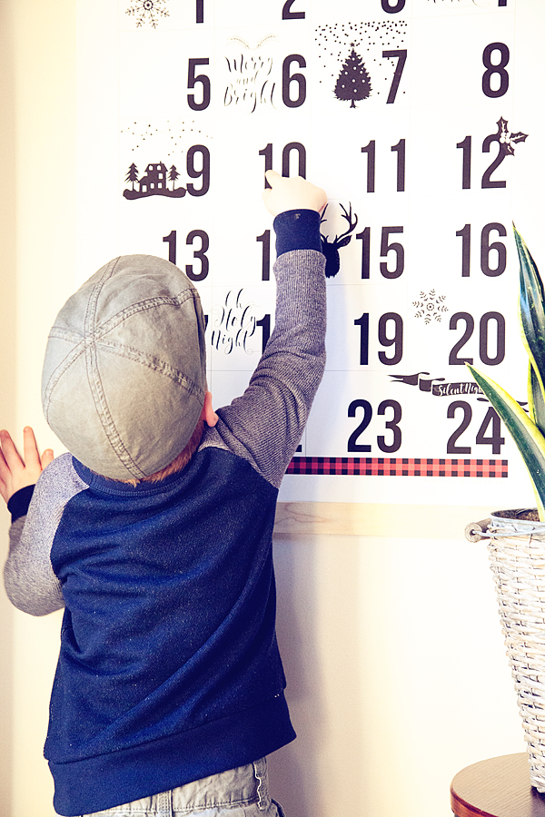 Free Printable Christmas Countdown Calendar
