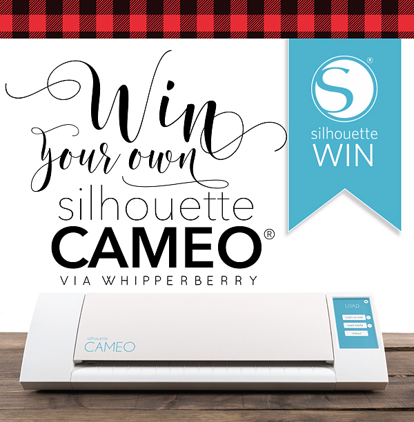 Mistletoe Christmas Sign + Silhouette CAMEO GIVEAWAY