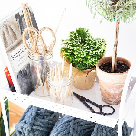 Knitting-Station-with-Michaels-Organization-6
