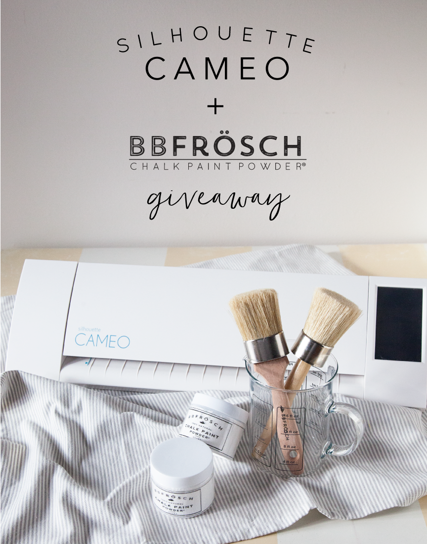 Silhouette CAMEO + BB Frösch a Match Made in Heaven // GIVEAWAY ...