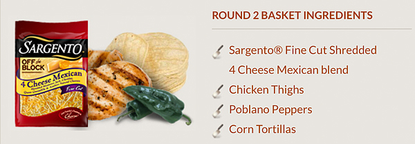 Sargento-At-Home-Chopped-Challenge-Round-Two---Mexican