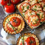 Tomato Tart Recipe from WhipperBerry