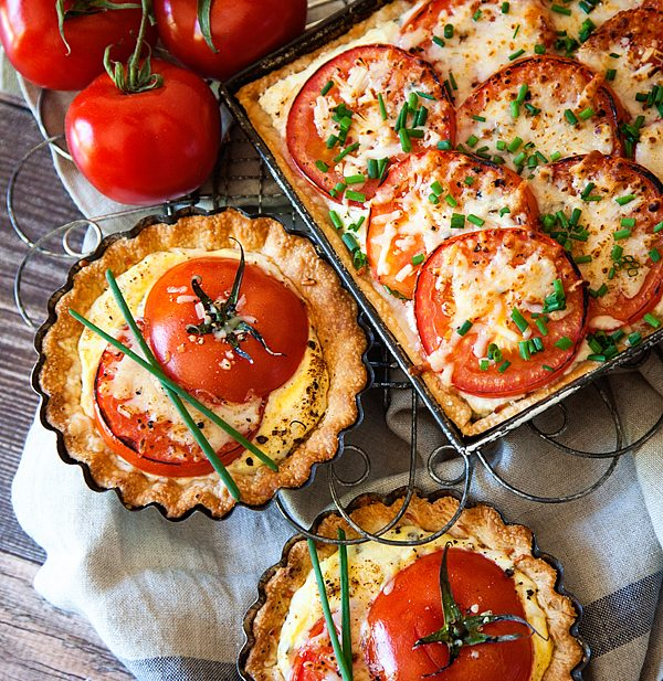 Tomato Tart Recipe from WhipperBerry