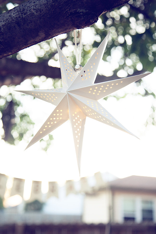 Heidi Swapp Light Star Lantern for a Dreamy Backyard Party from WhipperBerry