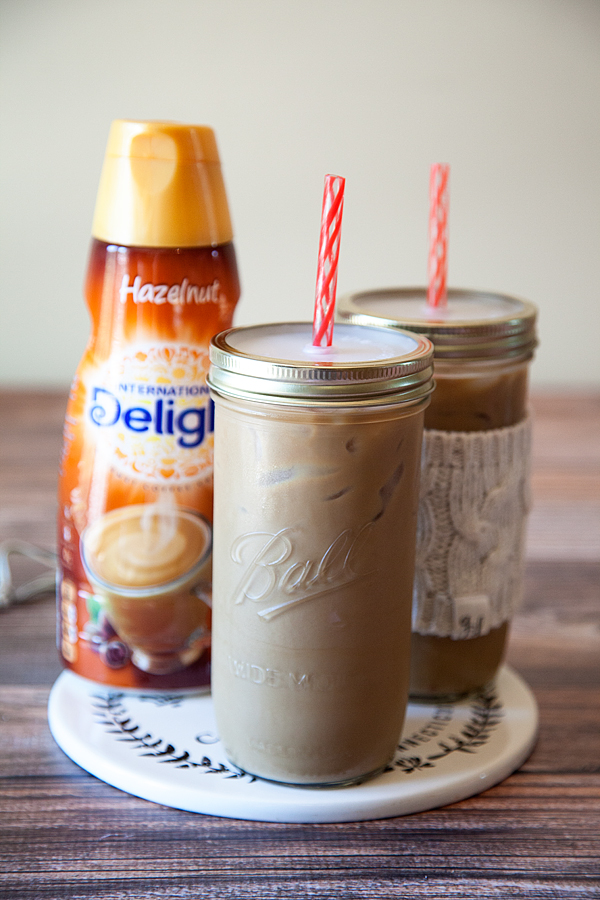International Delight Hazelnut Iced Choffy Latte from WhipperBerry  -  Brewed Chocolate a coffee alternative.