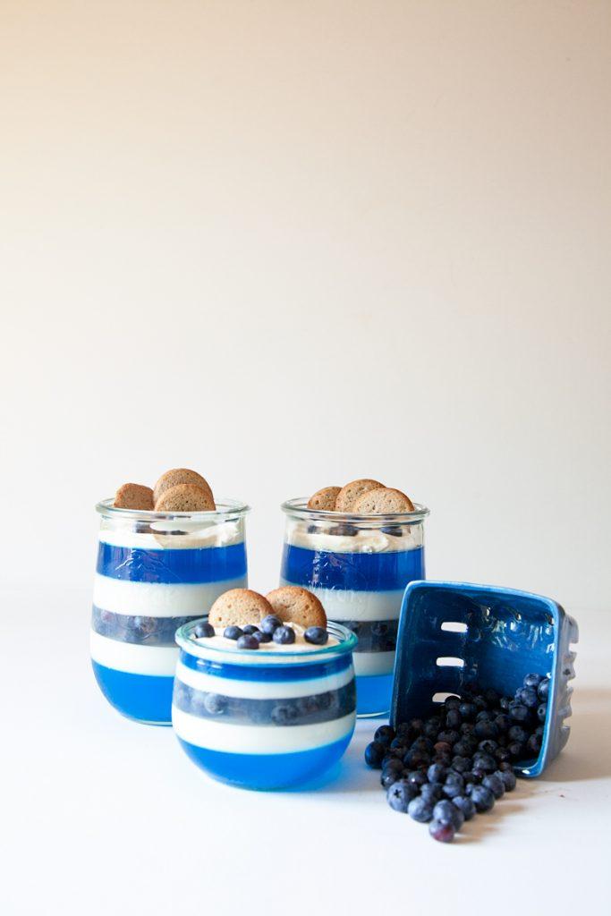 Creamy Layered Berry Gelatin Dessert from WhipperBerry