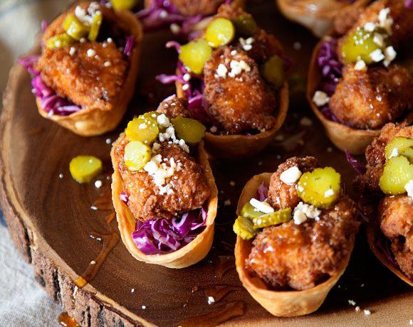 Mini Hot Chicken Bites Recipe