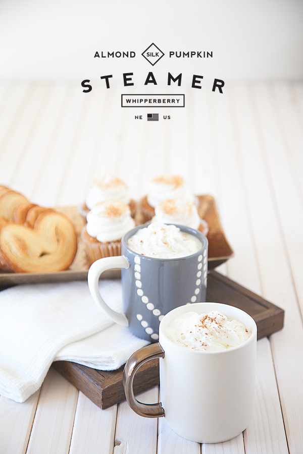 Who needs PSL when you can have a Pumpkin Spice Steamer right at home. Recipe from WhipperBerry