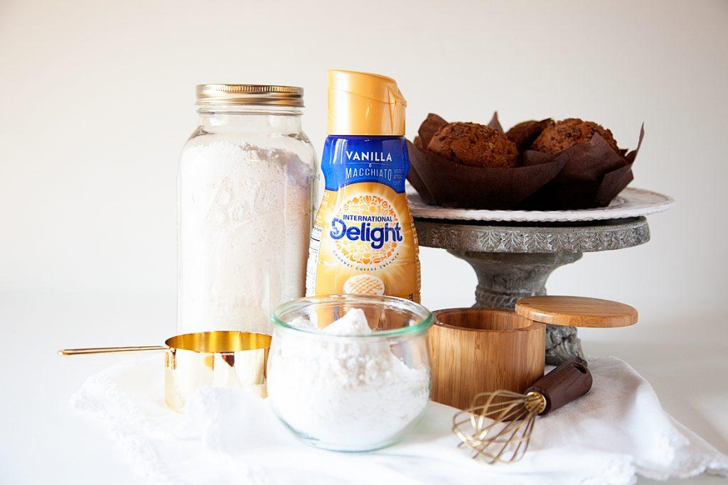Vanilla Macchiato Glaze recipe ingredients