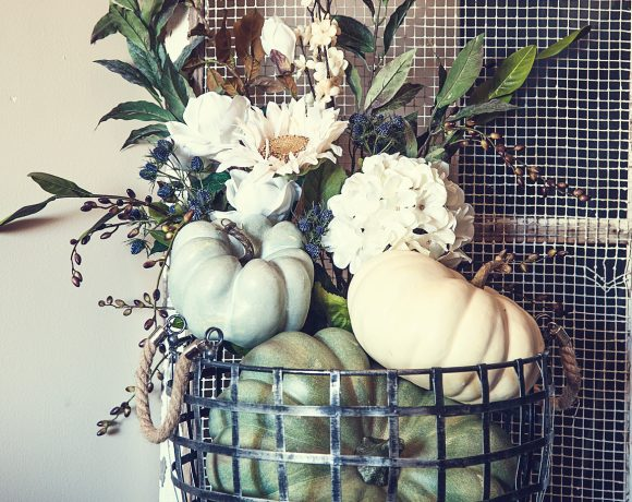 Fall Pumpkin Home Decor