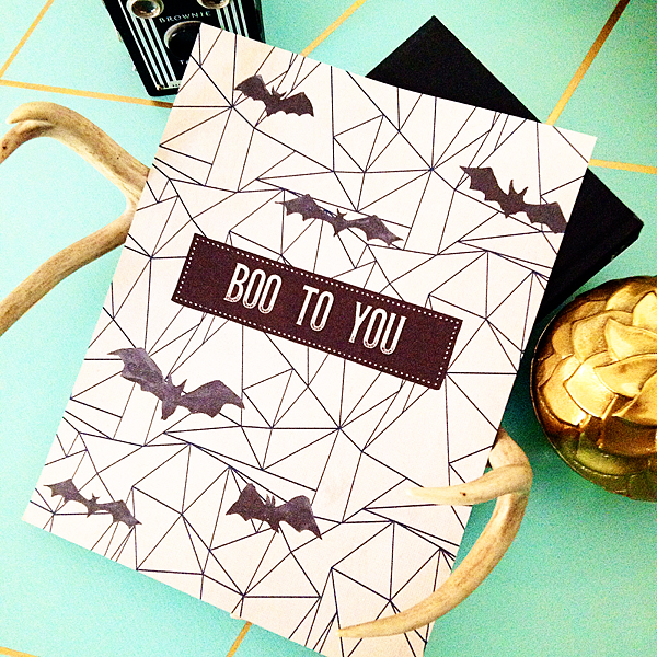 Boo to You Free Halloween Printable