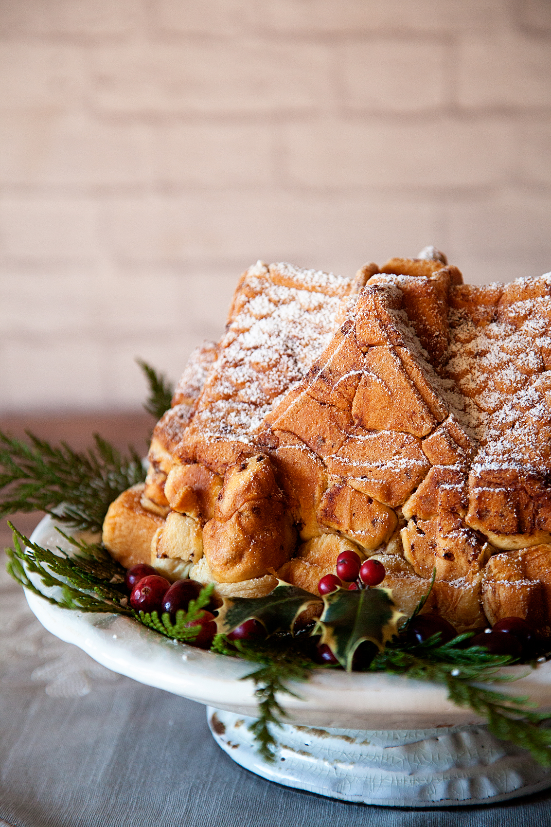 Pillsbury Cinnamon Roll House for your Christmas Table from WhipperBerry