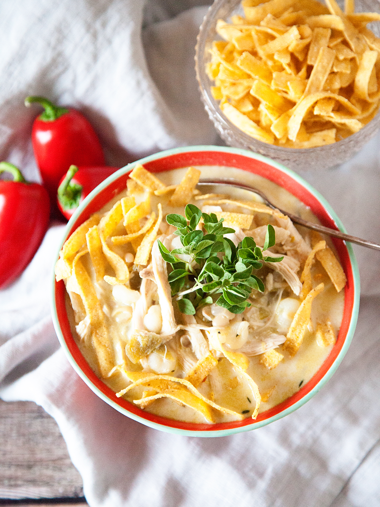 Easy Weeknight White Chicken Chili